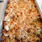 Χριστουγεννιατικα σπιτάκια από κέικ ! Fried Rice, Macaroni And Cheese, Fries, Ethnic Recipes, Food, Strawberry Shortcake House, Mac And Cheese, Meal, Eten