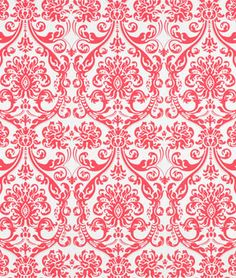 "Premier Prints Abigail Flamingo Fabric  $7.45per yard (1 to 9 yards)  Material: 100% Cotton Duck  Width: 54""  Horizontal Repeat: 9""  Vertical Repeat: 12.5"""