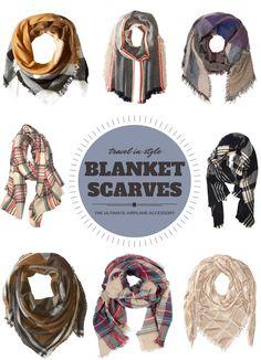 Blanket Scarves - Gr