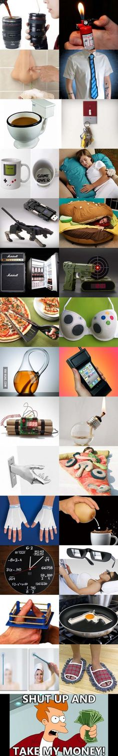 Cool and clever accessories! Totally worth the money!