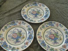 #ppt #pickingparadise Franciscan Strathmore dinner plates  Very good  by ChinaGalore