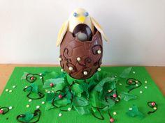 spring chicken Easter egg