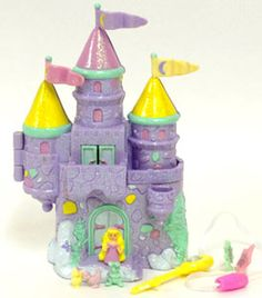 Starcastle :: Original Playsets [Ghost Of The Doll]: By the Sea: Purple Variation Cool Toys For Girls, 90s Toys, Dollhouse Toys, Princess Theme, Polly Pocket, Diy Home Crafts, Toys Shop, Toy Boxes, Vintage Toys