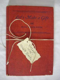 Vintage 1945 Craft Book by jjones1128 on Etsy, $5.00