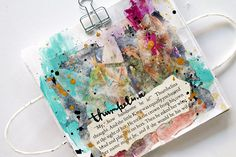 Season of Fairy Tales Art Journal page