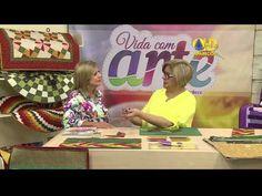 Patchwork com Ana Cosentino: Pasta de Materiais (Vida com Arte) - YouTube