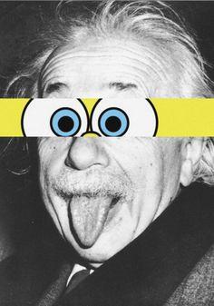 The good Albert Einstein once said: Dark Wallpaper, Cute Wallpaper Backgrounds, Aesthetic Iphone Wallpaper, Cartoon Wallpaper, Cute Wallpapers, Aesthetic Wallpapers, Photomontage, Urbane Kunst, Supreme Wallpaper
