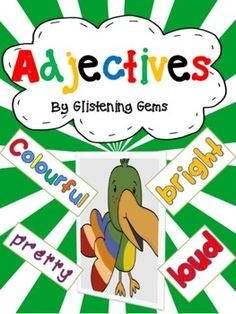 Adjectives: In this pack there are a variety of jungle-themed worksheets. Each activity is about expanding students knowledge and understanding about adjectives. The activities are based on Blooms Taxonomy and include graphic organisers to promote students' higher order thinking skills and creativity.