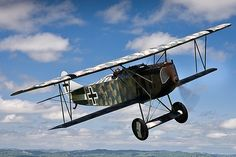 Modern flying reproductions of WWI aircraft, Masterton New Zealand TVAL31.jpg