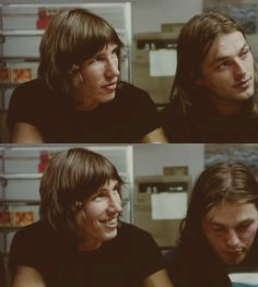 David Gilmour and Rodger Waters of Pink Floyd. Like A Rolling Stone, Rolling Stones, Roger Waters David Gilmour, A Saucerful Of Secrets, Musica Punk, Pink Floyd Albums, Richard Wright, Jack Johnson, Progressive Rock