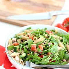 Salade de penne complètes