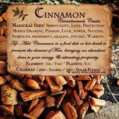 Potions, Candles, Incense, Crystals, Herbs & More * Bringing Magick to the Mundane! Magic Herbs, Herbal Magic, Magick Spells, Witchcraft, Jar Spells, Healing Spells, Cinnamon Chips, Cinnamon Loaf, Cinnamon Drink