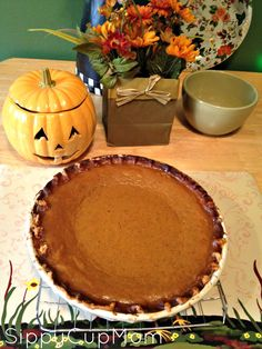 Pumpkin Pie Recipe #Thanksgiving