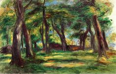 Pierre Auguste Renoir loved to paint nature. In the first couple decades of his career,  Renoir used to explore the arts of nature by expressing his work in the form of landscapes. In the late 1870's, Renoir's landscape paintings began to emerge as he explored North Africa and Italy. Let's take a look.