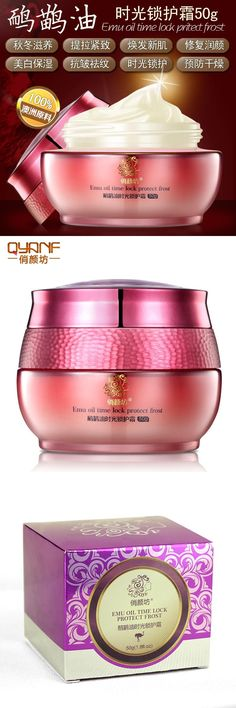 [Visit to Buy] Brand New Emu Oil Time Lock Protect Frost Anti Wrinkle Cream Anti Aging Wrinkle Firming Skin Care Facial Cream #Advertisement