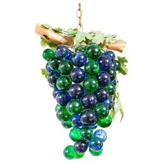 Image of Grape Cluster Glass Chandelier