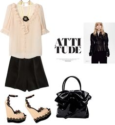 """Shoes by AZZEDINE ALAIA"" by fashionmonkey1 ❤ liked on Polyvore"