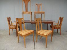 broyhill dining room chairs mid century - Google Search