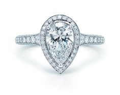 30 Diamond Engagement Rings So Sparkly You'll Need Sunglasses: Weddings: glamour.com