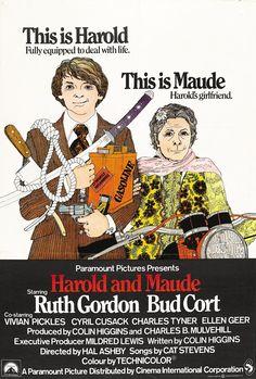 Harold y Maude - Harold and Maude (1971)   Oda a la muerte, a la rebeldía, a la libertad y a la búsqueda de cariño...