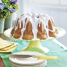 Lemon Ginger Pound Cake | *** In place of 1 stick of butter, use applesauce, or any fruit purees.