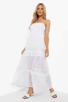 Search Sheer Chiffon, Chiffon Dress, Lace Dress, Dress Up, Strappy Maxi Dress, White Maxi Dresses, Dresses With Sleeves, Dress With Sneakers, Bodycon Fashion