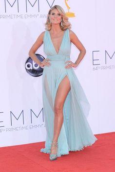 Heidi Klum in Alexandre Vauthier - 2012 Emmys