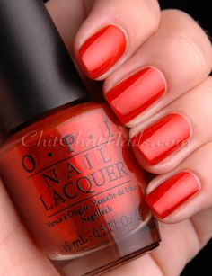 """""""Deutsche You Want Me Baby"""" from the NEW #OPI Germany Collection for Fall/Winter 2012 #nails"""