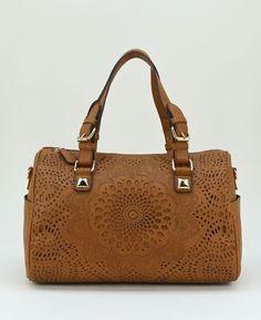 Justine Floral Cut Out Satchel Bag