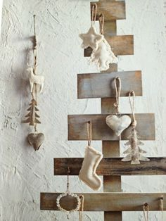 Creative rustic Christmas-tree @pattonmelo