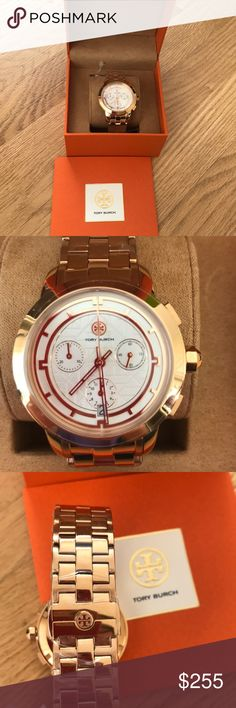 ddc89933f8e Tory Burch Watch Brand new. Japan movement. Bracelet is the original  length. Strap