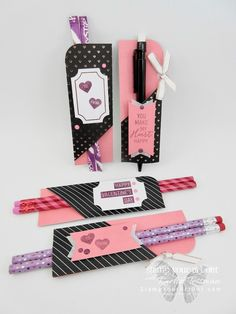 Click here to see fun alternate project ideas created with the January 2018 Heartfelt Love Notes Paper Pumpkin kit in A Paper Pumpkin Thing Blog Hop! This project idea shows how to turn 16 cards into 32 Valentines...#stampyourartout #stampinup - Stampin' Up!®️️ - Stamp Your Art Out! www.stampyourartout.com