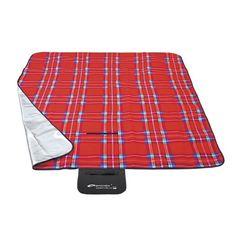 Červená pikniková deka s kockovaným motívom Picnic Blanket, Outdoor Blanket, Tartan, Rainbow, Rain Bow, Rainbows, Plaid, Picnic Quilt