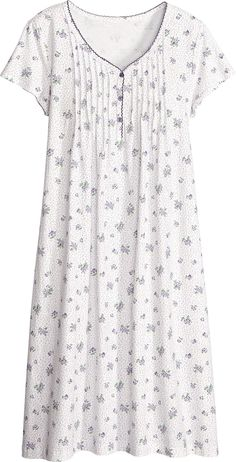 Womens nightgowns in hard-to-find and classic designs for every season. Browse our selection of sleepwear and cotton nightgowns for women. Night Gown Dress, Cotton Nighties, Nightgown Pattern, Night Dress For Women, Sleep Dress, Nightgowns For Women, Designs For Dresses, Sleepwear Women, Maternity Wear
