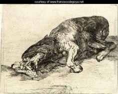 Fiero monstruo - Francisco De Goya y Lucientes - www.franciscodegoya.net