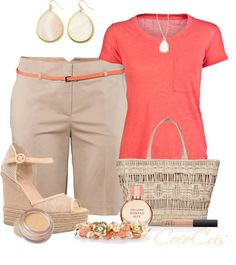 """""""Bermuda Shorts"""" by coco-cris-1 on Polyvore"""