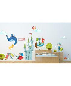 Stickers Le Château - Chambre Enfant La préférence de Cloé