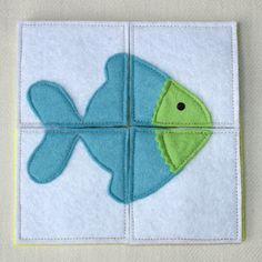 Puzzle GoldFish Busy Bag Activity Toddler Felt Toy by PopelineCo Diy Quiet Books, Baby Quiet Book, Felt Quiet Books, Easter Activities, Book Activities, Puzzles For Toddlers, Busy Bags, Toddler Toys, Goldfish