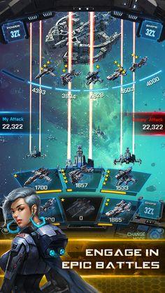 Вступайте в бесконечные PvP сражения за галактическое господство в альянс Galaxy. Играть бесплатно в самых захватывающих и фантастика социальная стратегическая игра!