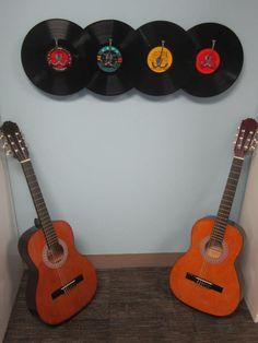 #Guitars #Records #Flamento #art