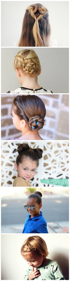 9 Easy Party Hairstyles For Your Little Girl!