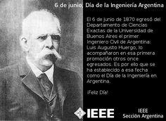 Hoy es 6 de junio… ¡Feliz Día de la Ingeniería Argentina! http://kcy.me/244j0