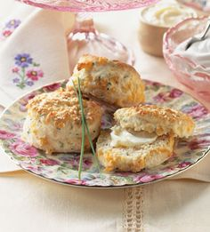 Cheddar Cheese Scones    http://www.bonappetit.com/recipes/2004/05/cheddar_cheese_scones