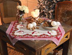 Toalha de mesa Natal com Led