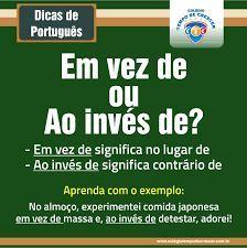 Resultado de imagem para dicas de portugues