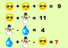 Problema 11 Math Logic Puzzles, Math Quizzes, Number Puzzles, Math Games, Brain Breaks, Brain Teasers, Elementary Math, Algebra, Kids And Parenting