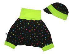 Baby - Set - Schirmmütze und Pumphose von Me Kinderkleidung auf DaWanda.com