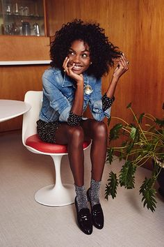How To Get Away With Jeans At Any Holiday Happening #refinery29 http://www.refinery29.com/dressed-up-denim-holiday-looks