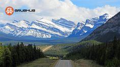 Website cover Summer 2017. Canadian Rockies near Banff National Park