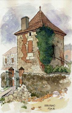 Castelfranc, une sorte de grenier | by Cat Gout